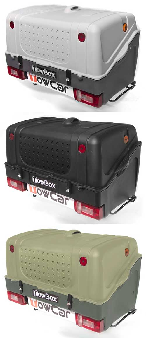 TowBox V1 Green/Grey/Black