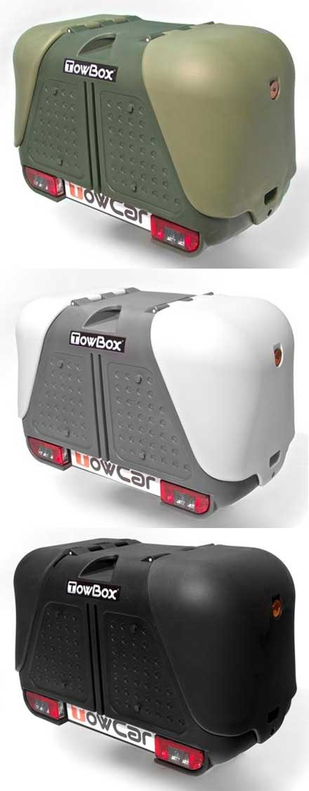 TowBox V2 Green/Grey/Black